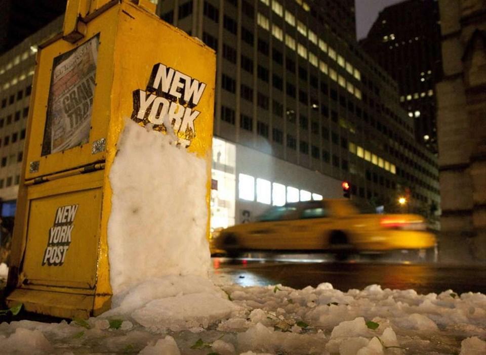 ABD'de kar sürprizi