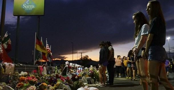 ABD'de Teksas saldırısı kurbanları anıldı