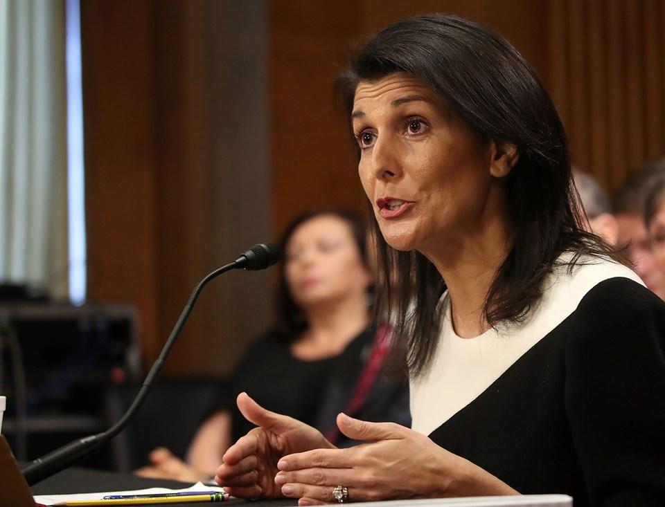 ABD'nin yeni BM Daimi Temsilcisi Nikki Haley