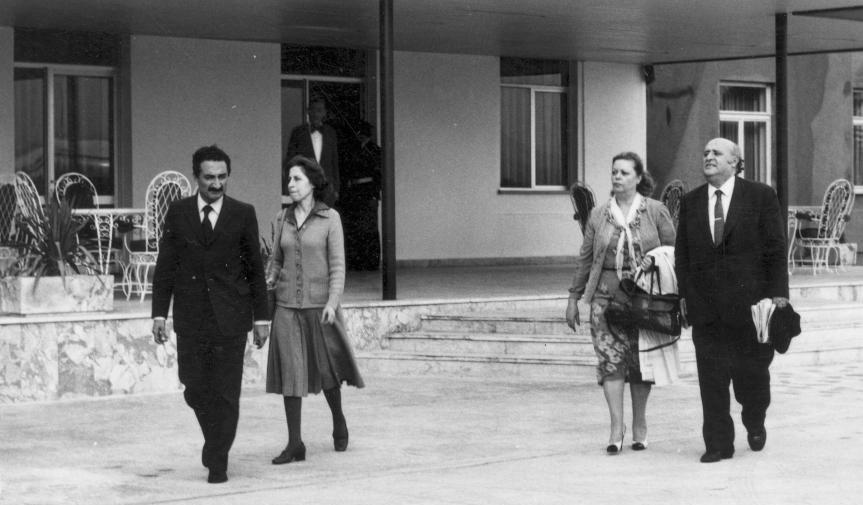 Dönemin siyasi liderleri Bülent Ecevit ve Süleyman Demirel.