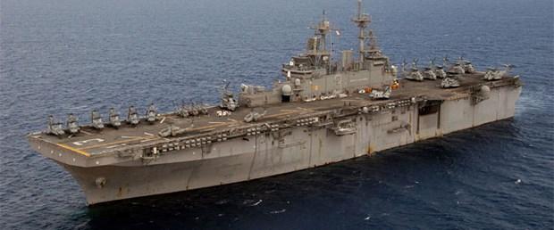 ABD'nin savaş gemisi Libya'ya yaklaşıyor