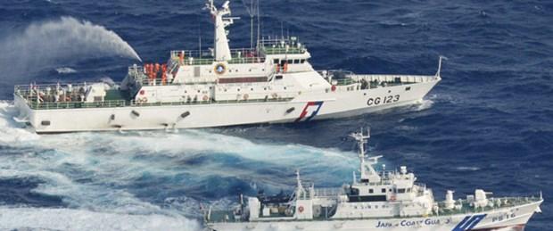 Ada savaşına Tayvan 'su' ile girdi