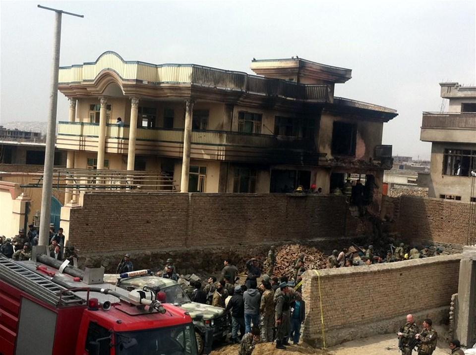 Kabil'de helikopter düştü, 12 Türk askeri şehit