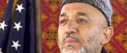 Afganistan'da başkan yine Karzai