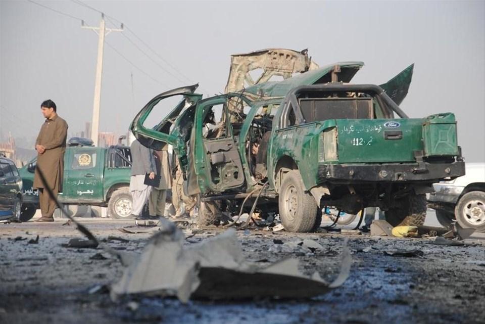 Afganistanda bombalı saldırı