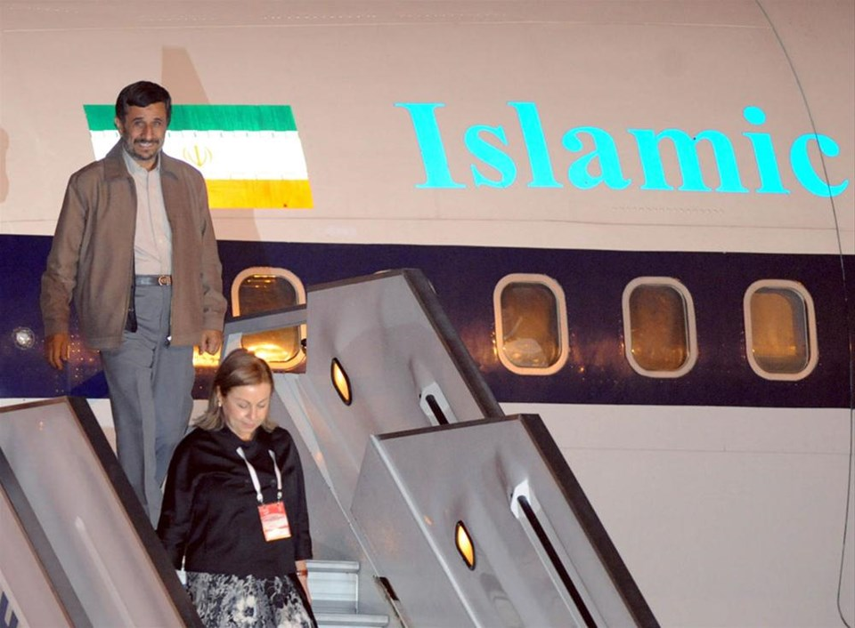Ahmedinejad Türkiye'de