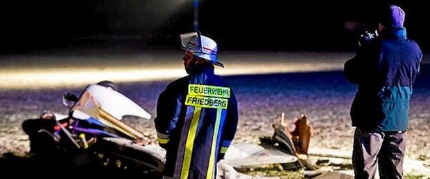 Almanya'da 2 uçak çarpıştı: 7 ölü