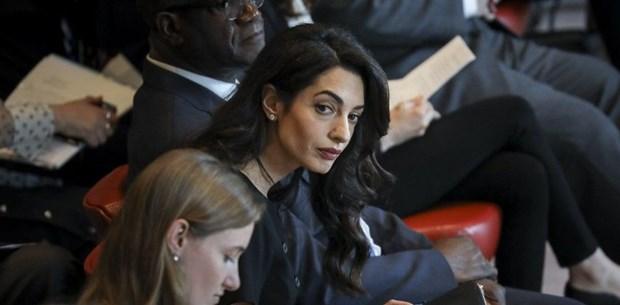 Amal Clooney'den dünya liderlerine 'Kaşıkçı' tepkisi ile ilgili görsel sonucu