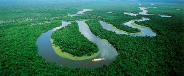Amazon Nehri 100 yılın en düşük seviyesinde