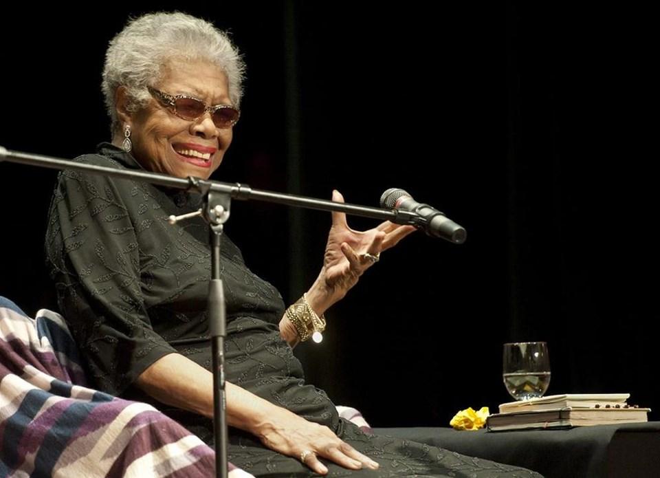 5. Maya Angelou