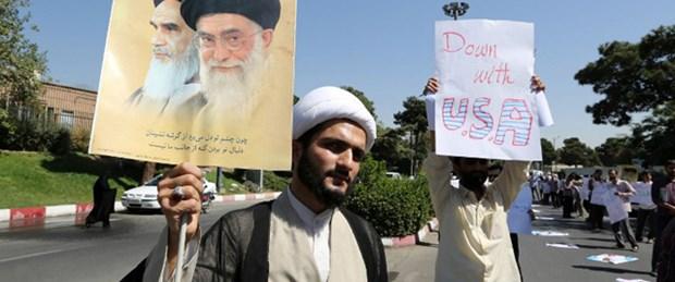 'Amerika'ya ölüm' sloganıyla karşılandı