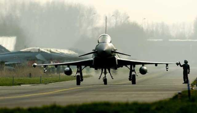 Alman savaş uçakları, Eylül ayı başından beri Baltık ülkeleri üzerinde düzenli uçuşlar gerçekleştiriyor.