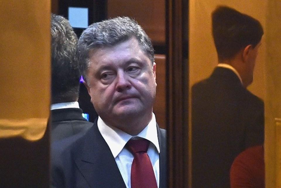 Minsk'teki zirveden düşenceli çıkan Ukrayna Devlet Başkanı Poroşenko, Rusya'nın kabul edemeyecekleri bazı koşullar öne sürdüğünü açıkladı.