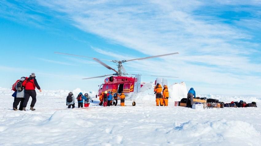Antartika'da büyük operasyon