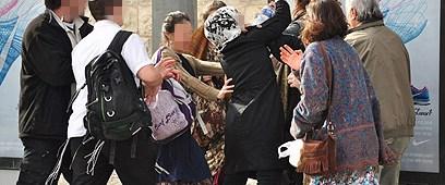 Arap kadına saldırı komik bulundu