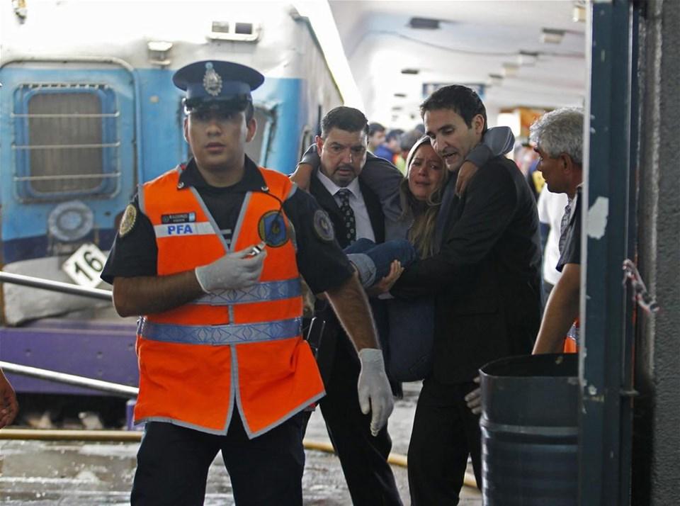 Arjantin'de tren kazası: 40 ölü
