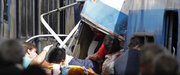 Arjantin'de tren kazası: 49 ölü