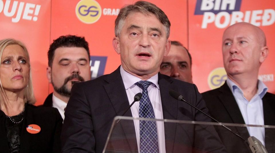 """Daha önce 8 yıl Devlet Başkanlığı Konseyi üyeliği yapan Hırvat Zeljko Komsic, """"Benden endişeniz olmasın"""" dedi."""