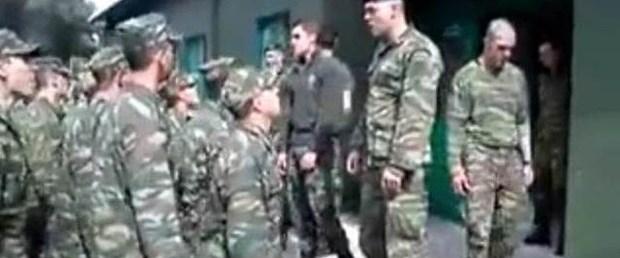 Askerlerin 'kin' dolu marşı tepki çekiyor