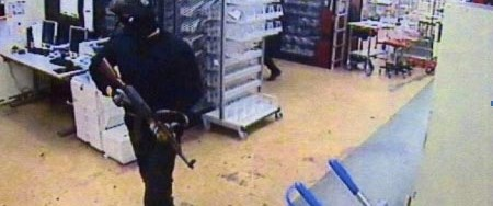 Asrın soygununun görüntüleri yayınlandı