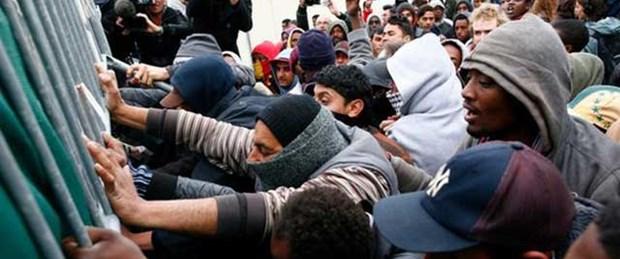 Avrupa'ya kaçak göçte rekor