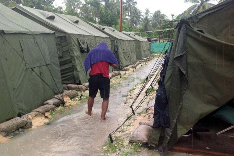 Avustralya'da mülteci kampında ölüm