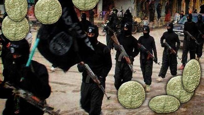 Irak ve Suriye topraklarında devlet kurduğunu ilan eden IŞİD para bile bastı.