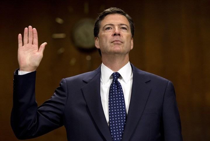 ABD Başkanı Trump tarafından görevinden azledilen James Comey