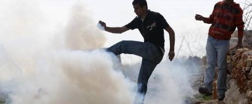 Batı Şeria'da 'duvar' eylemi