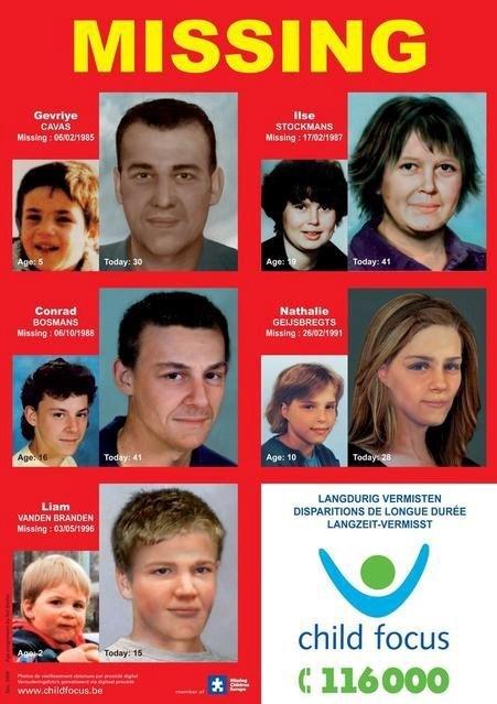 Belçika'da bin 720 çocuğun kayıp olduğu açıklandı.