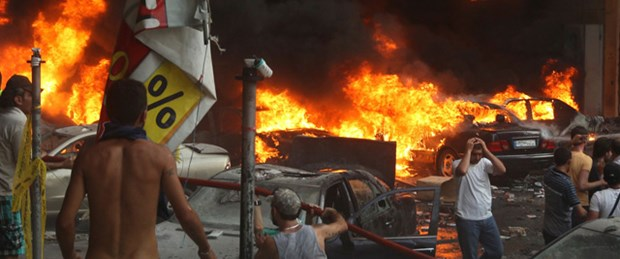 Beyrut'ta bombalı saldırı: 24 ölü