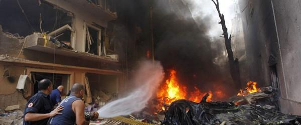 Beyrut'ta bombalı saldırı: 8 ölü, 78 yaralı