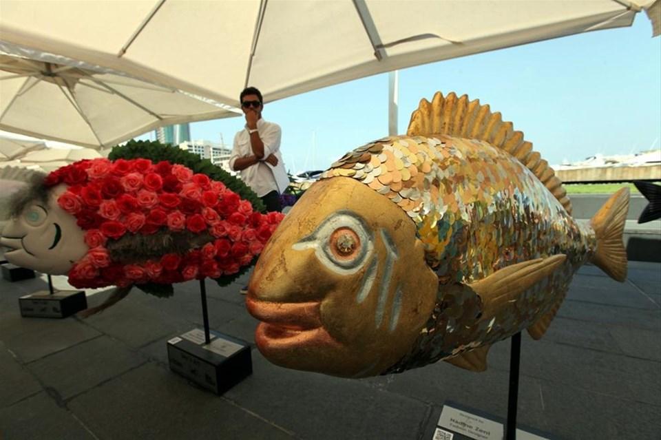 "Beyrut'ta ""Deniz ve Sanat"" sergisi"