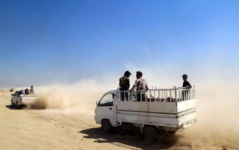 Binlerce Yezidi kurtarıldı