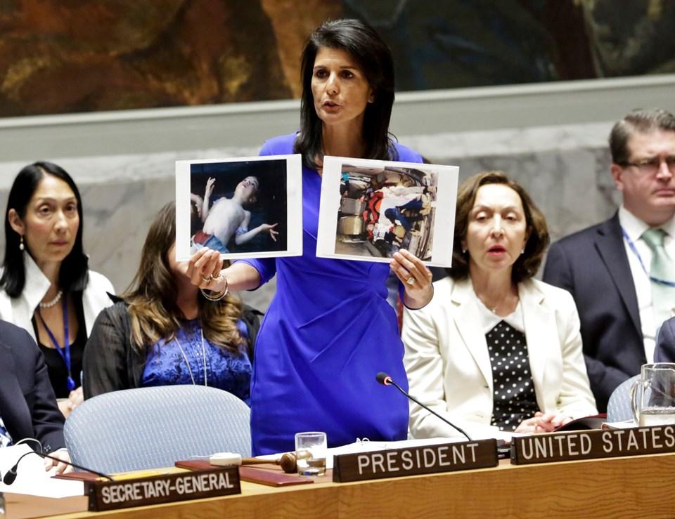 ABD'nin BM Daimi Temsilcisi Nikki Haley