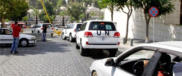 BM heyeti 'kimyasal gaz' kurbanlarıyla görüştü