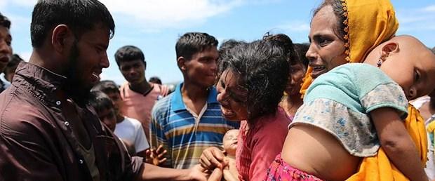 Myanmar hükümetinin Arakanlı Müslümanlara karşı şiddet eylemleri ile ilgili görsel sonucu