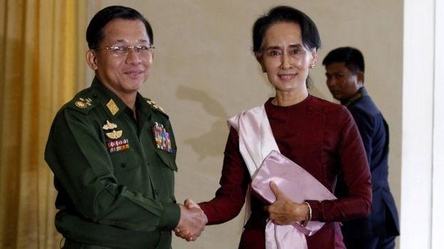 Genelkurmay Başkanı Min Aung Hlaing'ın Arakanlı Müslümanlara soykırımdan yargılanması istendi.