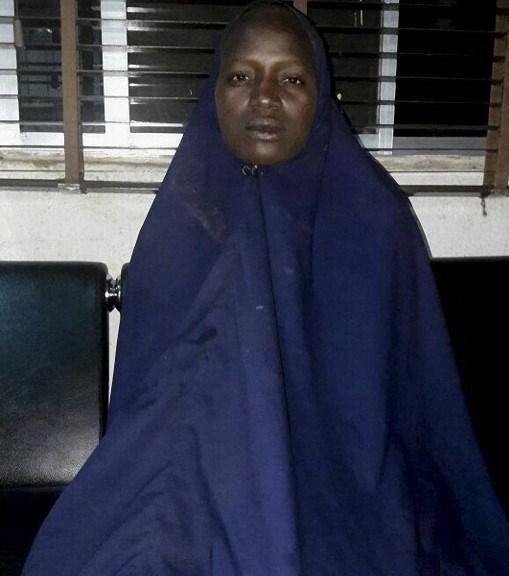 Boko Haram'dan kaçan Serah Luka dün Nijerya Devlet Başkanı Muhammed Buhari ile görüştü.