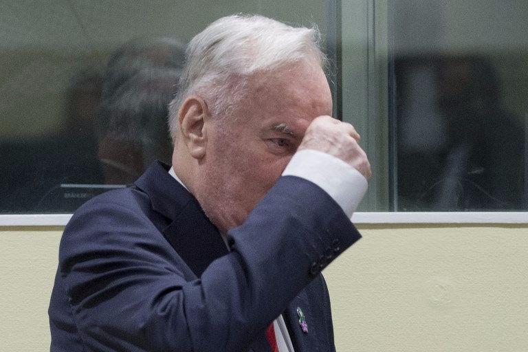 Ratko Mladiç, Bosna kasabı, soykırım, müebbet