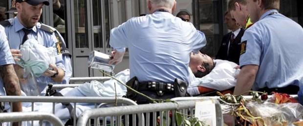 Breivik duruşmadayken o kendini yaktı