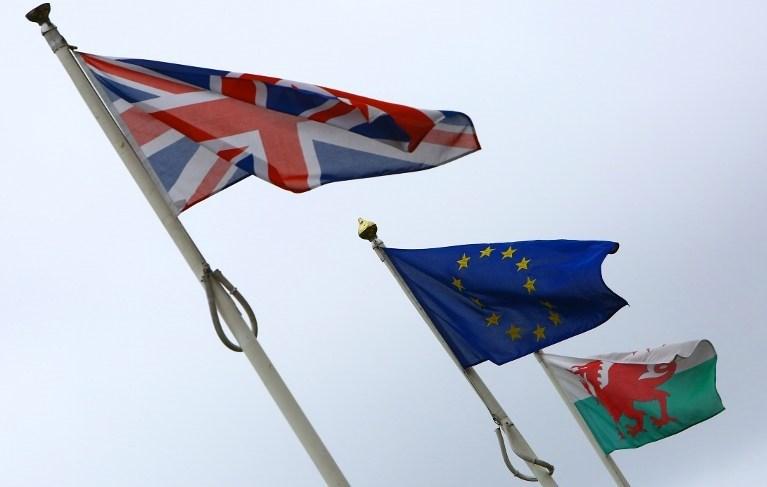 İki yıllık müzakere süreci sonrasında Birleşik Kralık'ta artık AB bayrağı dalgalanmayacak.