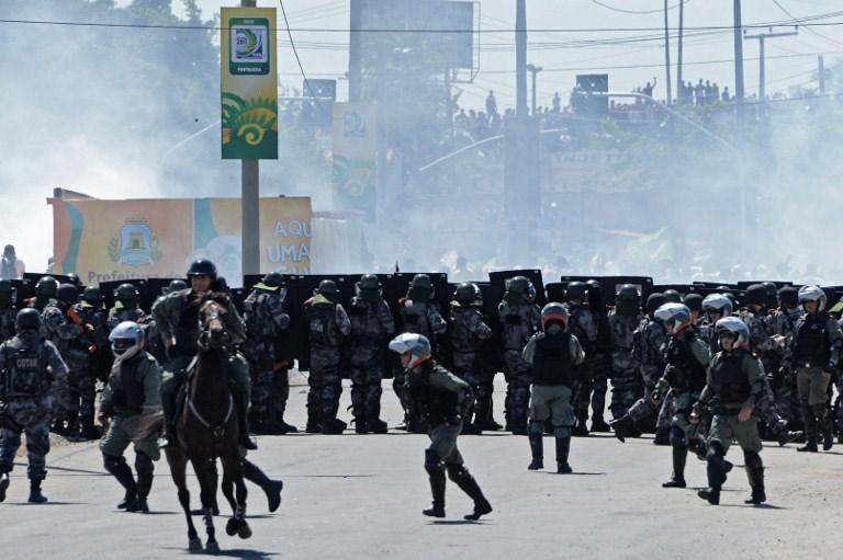 Brezilya'da protestolar dinmiyor