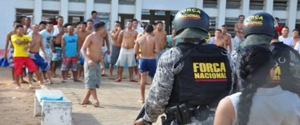 Brezilya da silahlı kuvvetler cezaevlerine giriyor