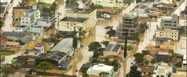 Brezilya'da yağış can alıyor: 84 ölü