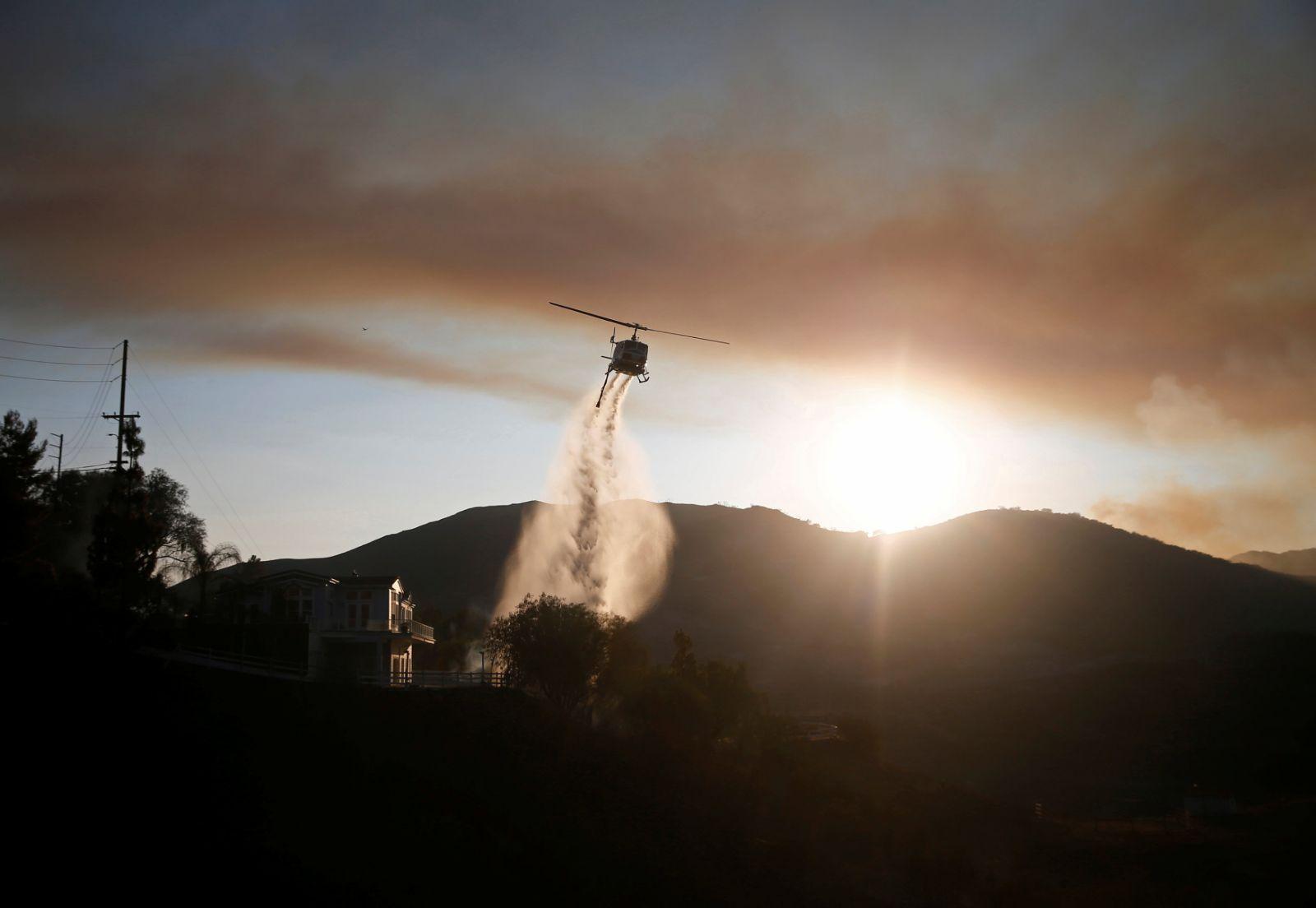 Kaliforniya tarihinin en büyük yangını kontrol altında