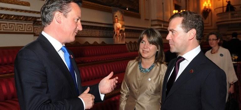 İngiltere Başbakanı David Cameron 2011 yılında Moskova'yı ziyaret etti.