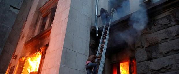 Çatışmalar Odessa'ya sıçradı