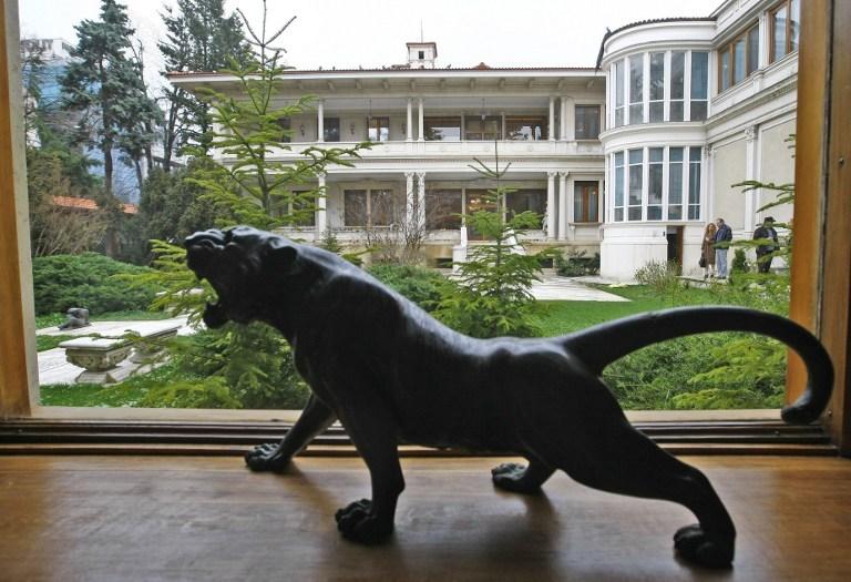 Çavuşesku'nun 80 odalı villası