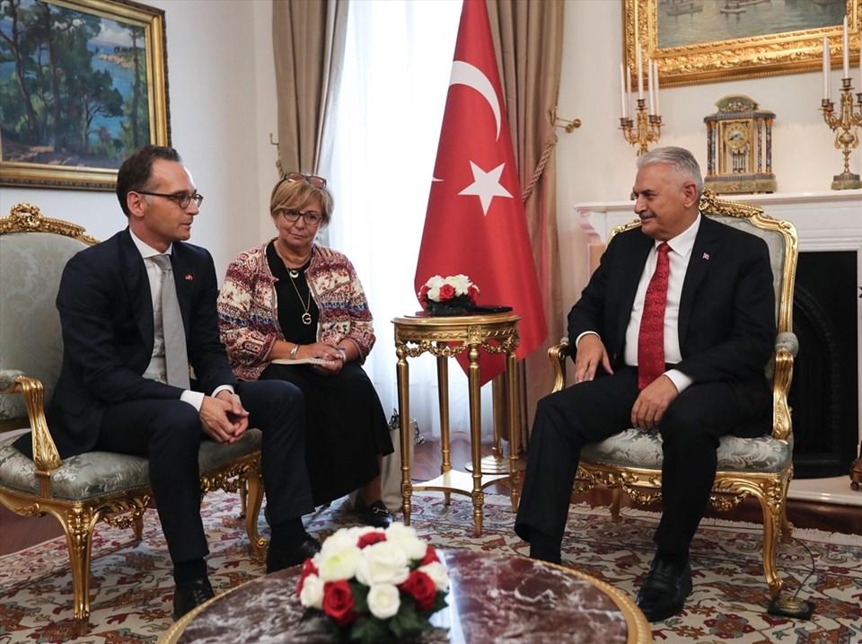 TBMM Başkanı Binali Yıldırım, resmi temaslarda bulunmak üzere Ankara'ya gelen Almanya Dışişleri Bakanı Heiko Maas'ı kabul etti.